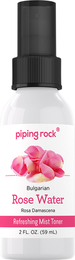 Rose Water Bulgarian, 2 fl oz (59 mL) Bottle