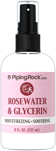 Rosewater and Glycerin 8 fl oz Spray Bottle