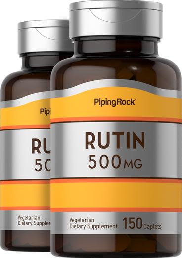 Rutin 500 mg 2 Bottles x 150 Caplets