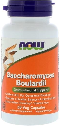 Saccharomyces Boulardii 60 Vegetarianske kapsler