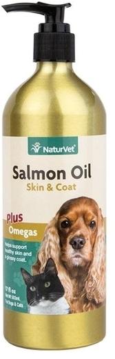 Olej z łososia – dla psów i kotów 17 fl oz (503 mL) Butelka