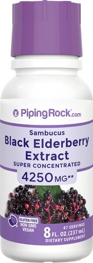 สารสกัดจาก Sambucus Black Elderberry 8 fl oz (237 mL) ขวด