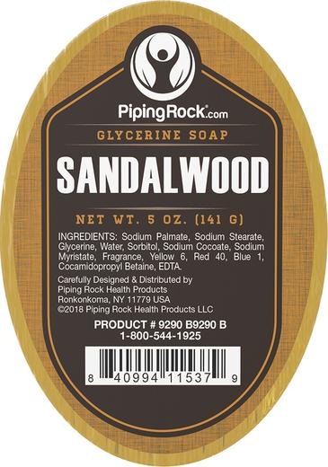 Sandalwood Glycerine Soap 5 oz