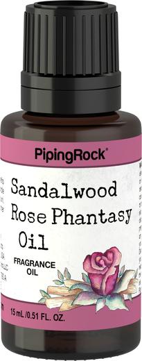 Olio con fragranza fantasia sandalo e rosa 1/2 fl oz (15 mL) Flacone contagocce