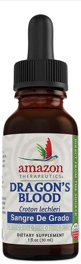 Extrato líquido de sangue de dragão, 1 fl oz (30 mL) Frasco conta-gotas
