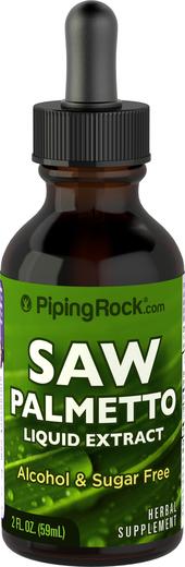 ノコギリヤシ抽出液アルコールフリー 2 fl oz (59 mL) スポイト ボトル