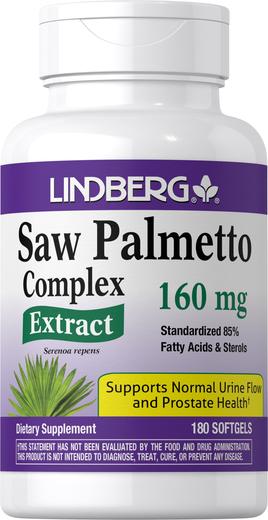 Palma sabalowa Ekstrakt 180 Tabletki żelowe
