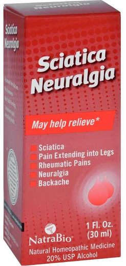 Sciatica Neuralgia 1 fl oz (30 mL) Butelka z zakraplaczem