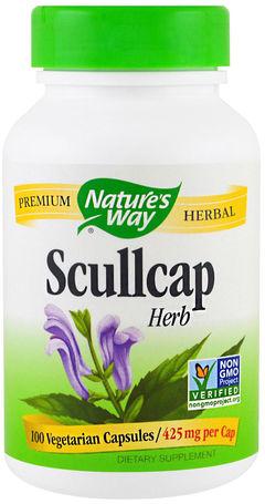 Escutelária , 425 mg, 100 Cápsulas vegetarianas