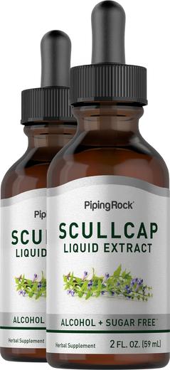 Płynny ekstrakt z tarczycy bocznokwiatowej Bez alkoholu  2 fl oz (59 mL) Butelka z zakraplaczem