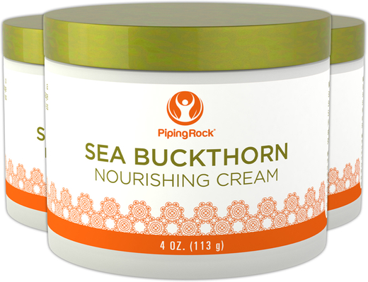 Sea Buckthorn Nourishing Cream 3 Jars x 4 oz (113 g)