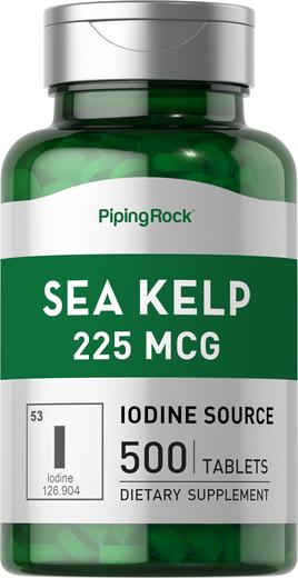 Kelp morski (źródło jodu ) 500 Tabletki