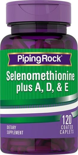 Selenium plus A, D & E, 120 Caplets