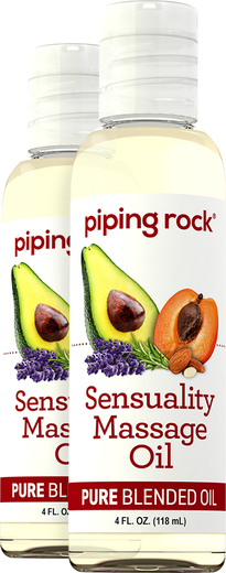 Aceite corporal y para masajes sensuales 4 fl oz (118 mL) Botellas/Frascos