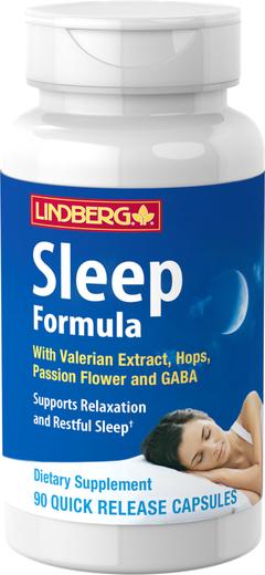 Sleep Formula with Valerian Plus, 90 Capsules