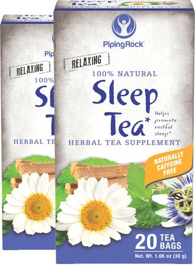 Sleep Tea (Bedtime) Herbal Tea, 20 Tea Bags x 2 Boxes