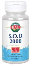 SOD 2000 (Superoxide Dismutase) 250 mg, 100 Tablets