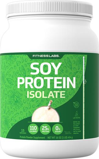 Proszek proteinowy sojowy, bez dodatków smakowych 1 lb (454 g) size_units.unit.118