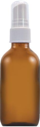 Butelka do spryskiwania z brązowego szkła 2 fl oz 2 fl oz (59 mL) Glass Amber, Butelka do spryskiwania