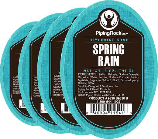 Spring Rain Glycerine Soap 5 oz x 6 Bars