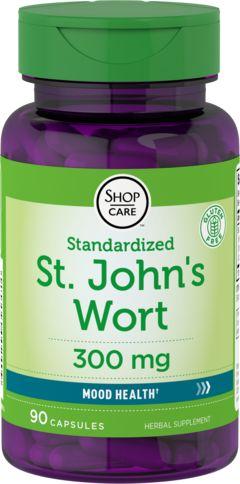 聖約翰麥汁膠囊 (0.3% 金絲桃素)  90 膠囊