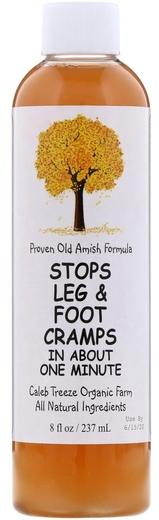 Stop skurczom nóg i łydek 8 fl oz (237 mL) Butelka