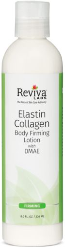 Loção de prevenção de estrias com colagénio e elastina 8 fl oz (236 mL) Frasco