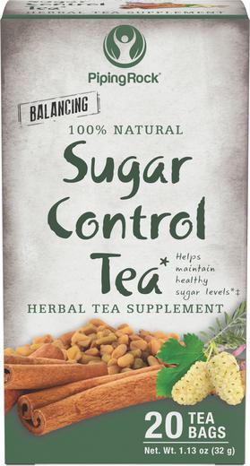 Tisana para controlo do açúcar c/ folhas de amora, 20 Saquetas de chá