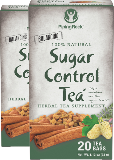 Tisana para controlo do açúcar c/ folhas de amora, 20 Saquetas de chá, 2  Caixas