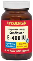 Słonecznik E-400 IU (bez GMO) 90 Tabletki żelowe