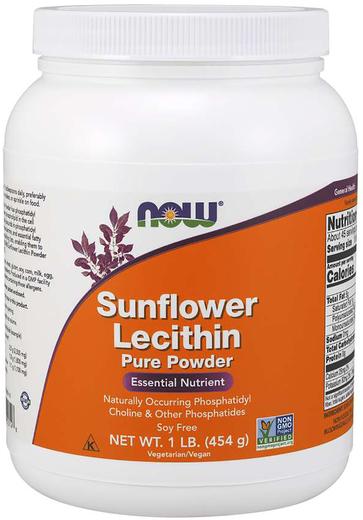 向日葵卵磷脂粉末 - 無轉基因 1 lb (454 g) 粉末