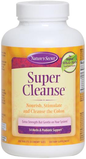Super Cleanse 200 Tabletki