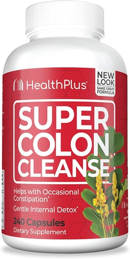 Super Colon Cleanse 240 Kapsułki