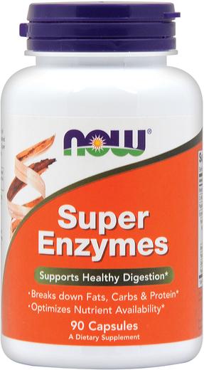 Super Enzymes, 90 Caps