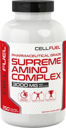 Supreme Amino Complex 3000 mg (per serving), 250 Coated Caplets