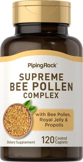 Kompleks pyłku pszczelego 120 Powlekane kapsułki