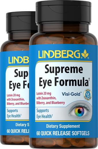 Supreme Eye Formula, 60 Sg x 2 Bottles