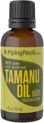 Olej tamanu, 100% czystości 1 fl oz (30 mL) Butelka z zakraplaczem