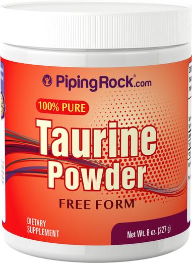 Pó de taurina, 8 oz (227 g) Frasco