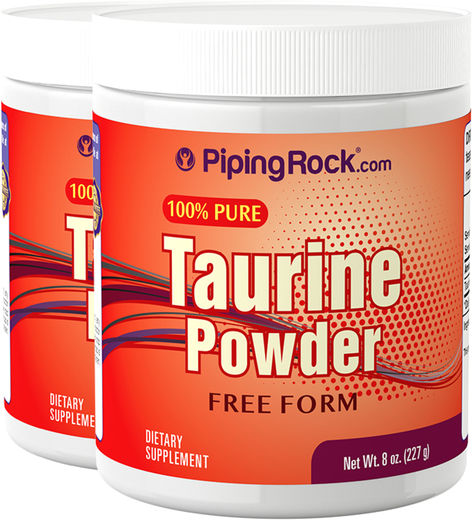 Poudre de Taurine 8 oz (227 g) Bouteilles