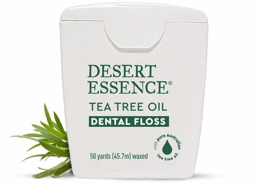 Nić dentystyczna z olejkiem z drzewa herbacianego 50 Yards (45.7 meters) Paczka