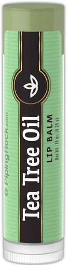 Bálsamo para os lábios de óleo de árvore do chá 0.15 oz (4 g) Tubo