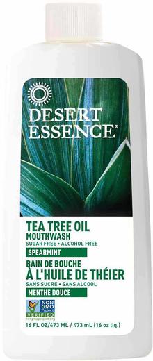 Bain de bouche à l'huile de théier et à la menthe verte 16 fl oz (473 mL) Bouteille