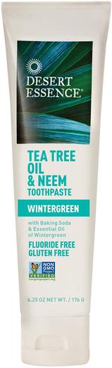 Pasta do zębów z olejkiem z drzewa herbacianego i miodlą indyjską 6.25 oz (177 g) Tubka
