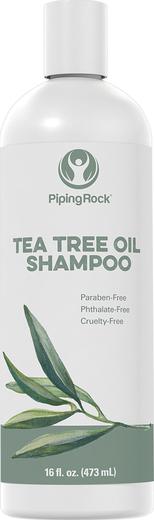 Champô de óleo de árvore do chá, 16 fl oz (473 mL) Frasco