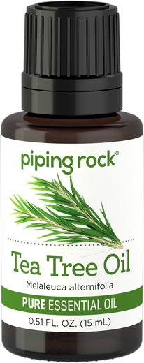 Olejek eteryczny z drzewa herbacianego o czystości (GC/MS Sprawdzono) 1/2 fl oz (15 mL) Butelka z zakraplaczem