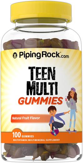 Żelki multiwitaminowe dla nastolatków 100 Żelki