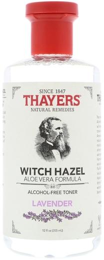 Thayers levendula és nagylevelű csodamogyoró aloé vera tonikkal 12 fl oz (355 mL) Palack