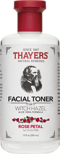 Крем Thayers с лепестками розы, гамамелисом и тоником алоэ вера 12 fl oz (355 mL) Флакон