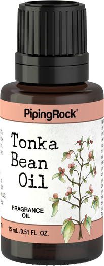 Tonka Bean Fragrance Oil 1/2 oz (15 ml) Dropper Bottle